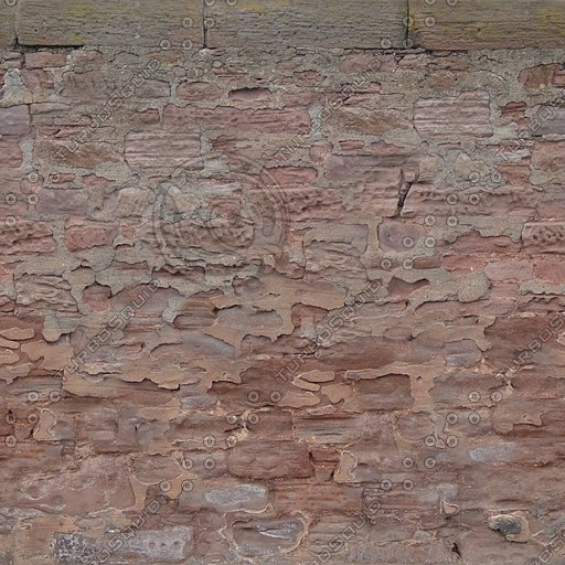 W350 red sandstone wall texture