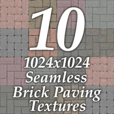 GCBP10 brick pavers collection