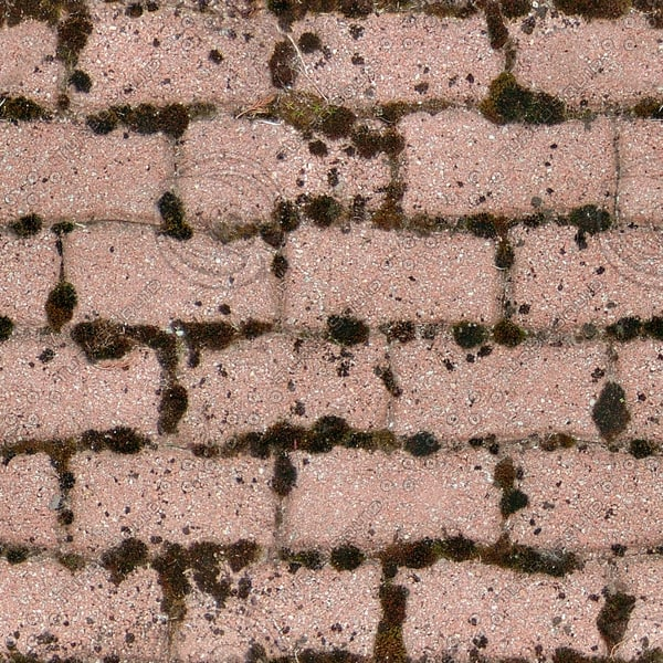 G366 red brick paving texture