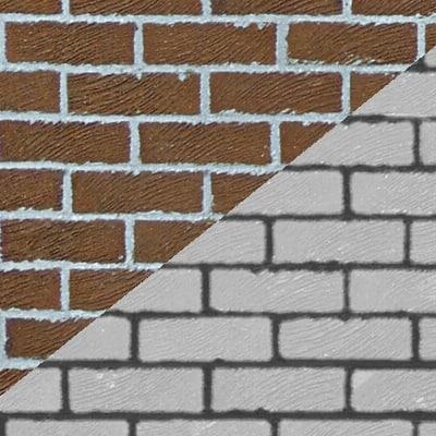 SRF brick wall brown bricks texture
