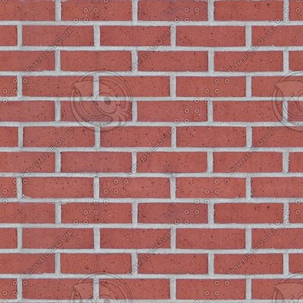 BRK113 red bricks high detail