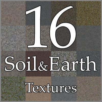 GCSE16 ground texture collection