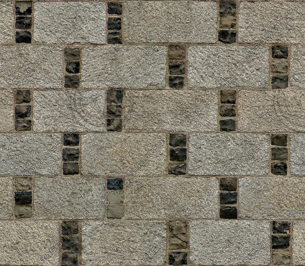 BL142 large stone blocks wall texture