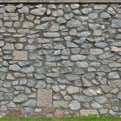 W347 granite stone wall texture