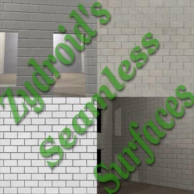 SRF white cinder blocks breezeblocks texture