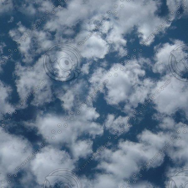 S001 sky clouds Cumulus