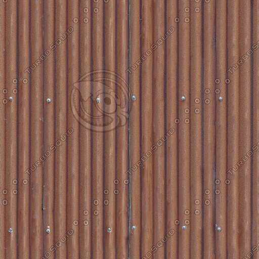 R085 rusty metal roof texture