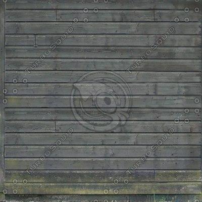 W086 wooden shack wall