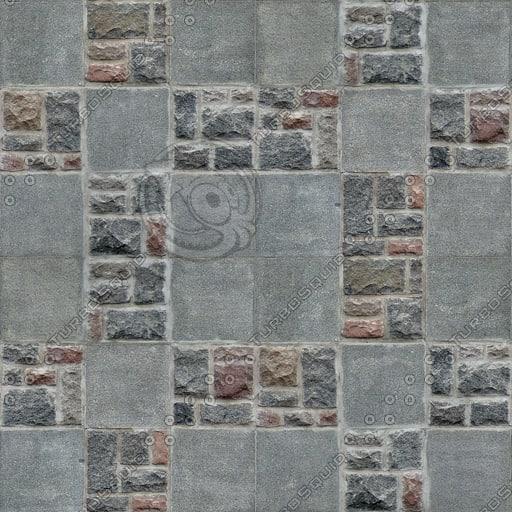 BL126 paving flagstones cobblestones