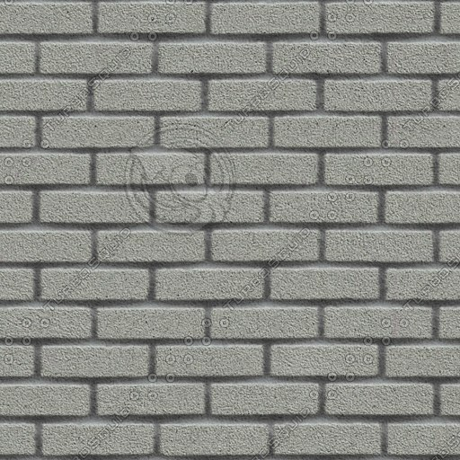BRK012 gray bricks wall texture