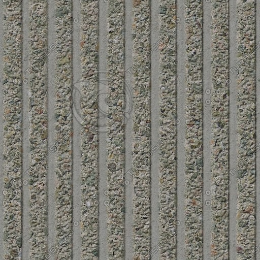 C093 concrete wall corrugated