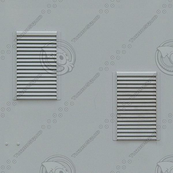 M181 metal wall white