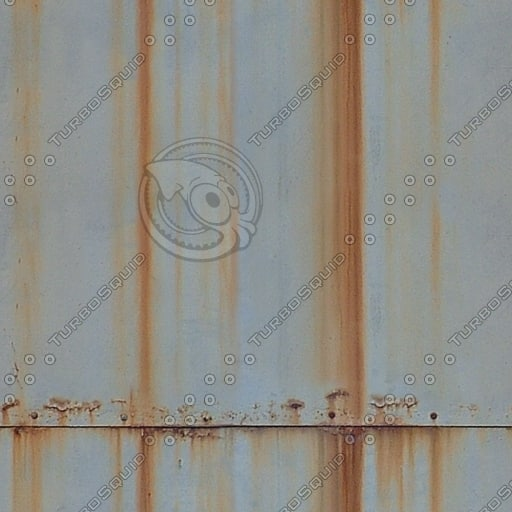 M156 rusty white metal texture