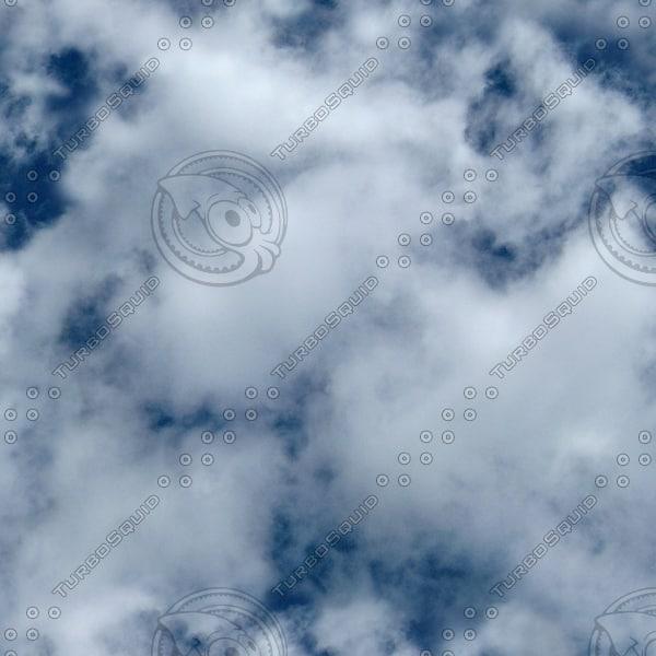 S005 cloudy blue sky texture