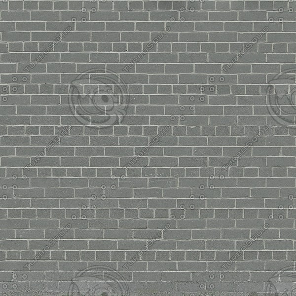 W096 gray brick wall texture