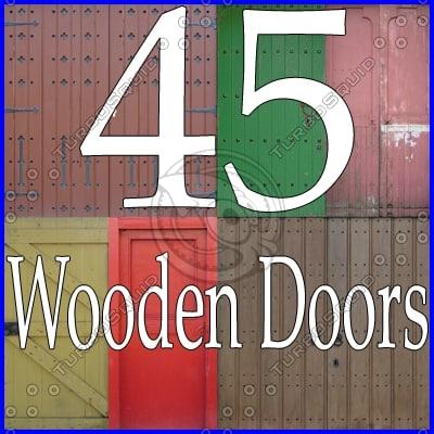 WDDC45 wooden door collection