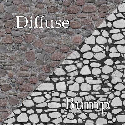 bl015  bumpmap stone wall