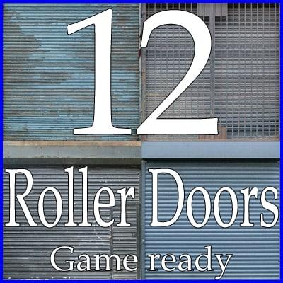 RDC12 Roller shutter door collection