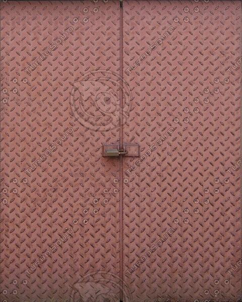 D167 metal door double