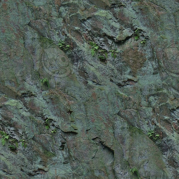 RS056 rock face wall texture