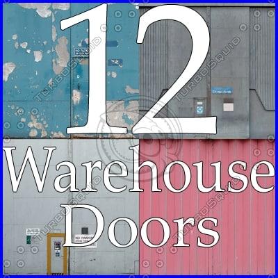 WDC12 warehouse door texture collection