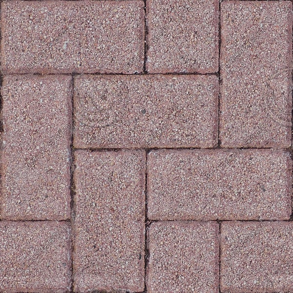 G311 brick paving herringbone