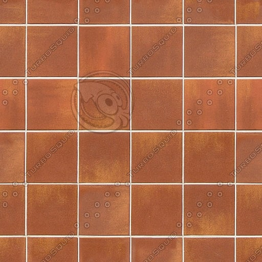 T030 red brown tiles texture