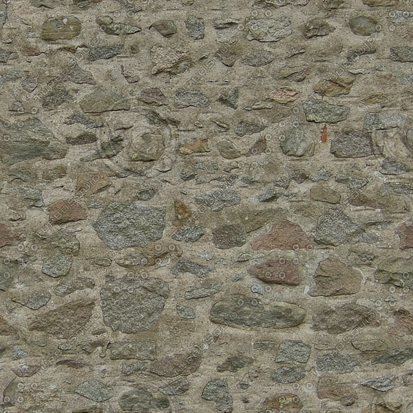 WTX027 stone wall blocks texture