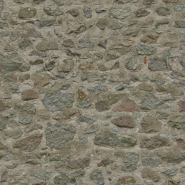 WTX027 stone wall blocks texture