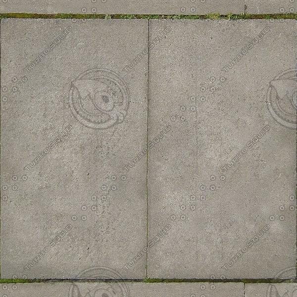 G129 concrete sidewalk pavement