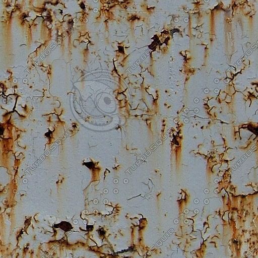 M149 rusty paint metal texture
