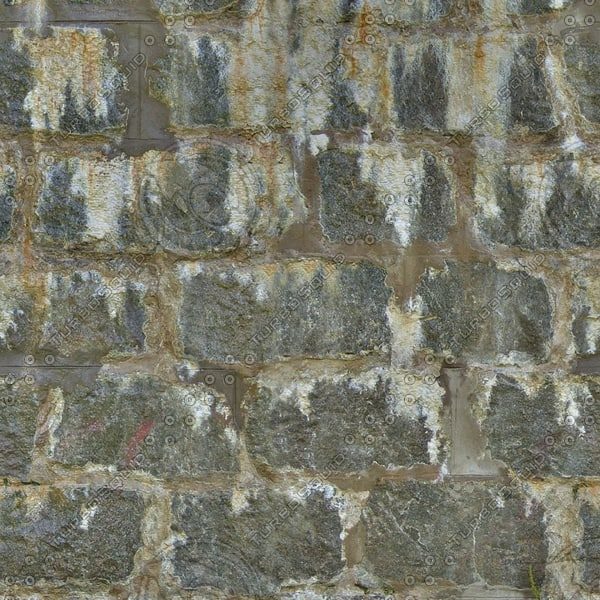 BL025 old stone wall texture