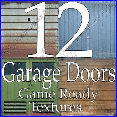 GDC12 garage door texture collection