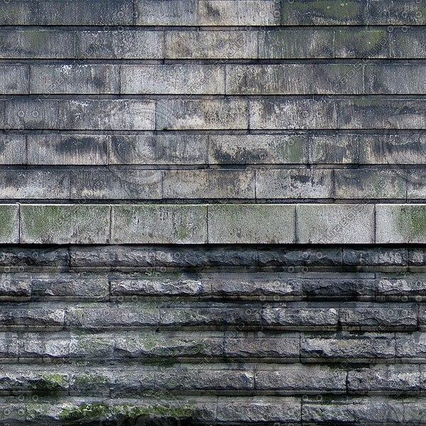 W134 railway bridge wall texture