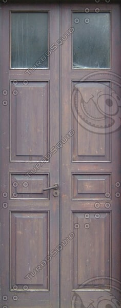 D162 double door wooden texture