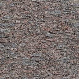 UPW04 granite stone wall