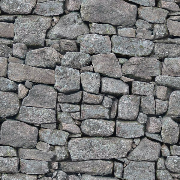 SW010 dry stone wall texture
