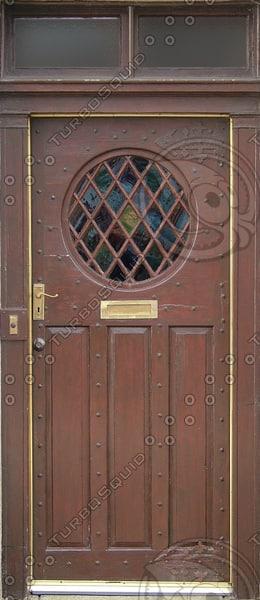 D164 door round window
