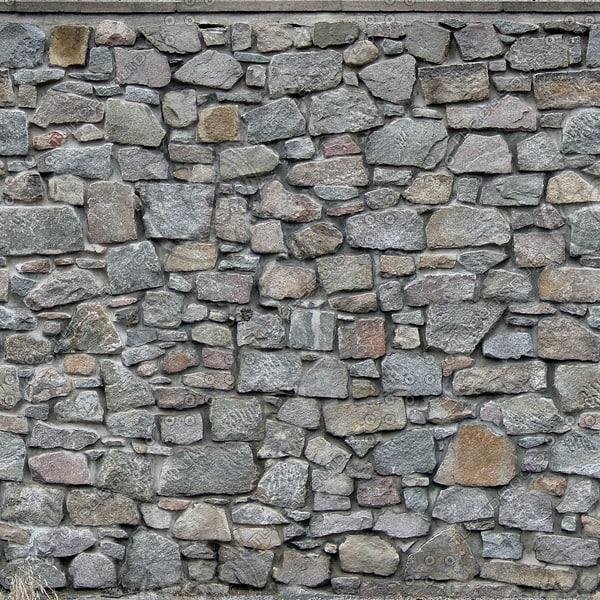 W093 stone rock wall texture