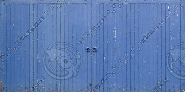 D086 double doors gate texture