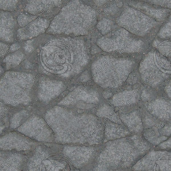 G369 broken stone paving texture
