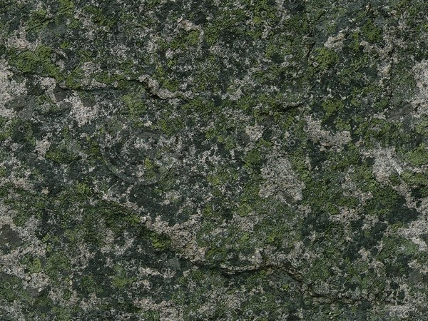 RS076 mossy stone rock high detail
