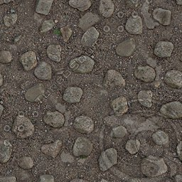 UPG10 stony path ground texture
