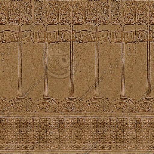 MSC004 ornate interior wall