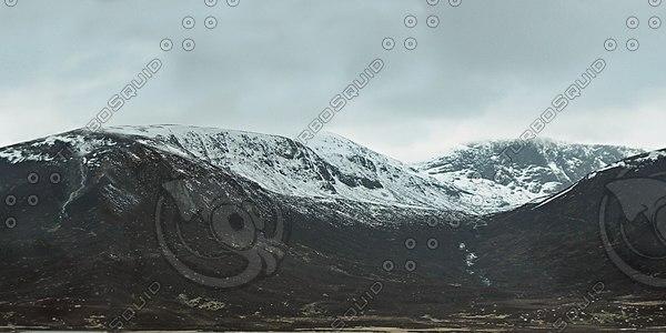 BG024 mountain landscape highlands
