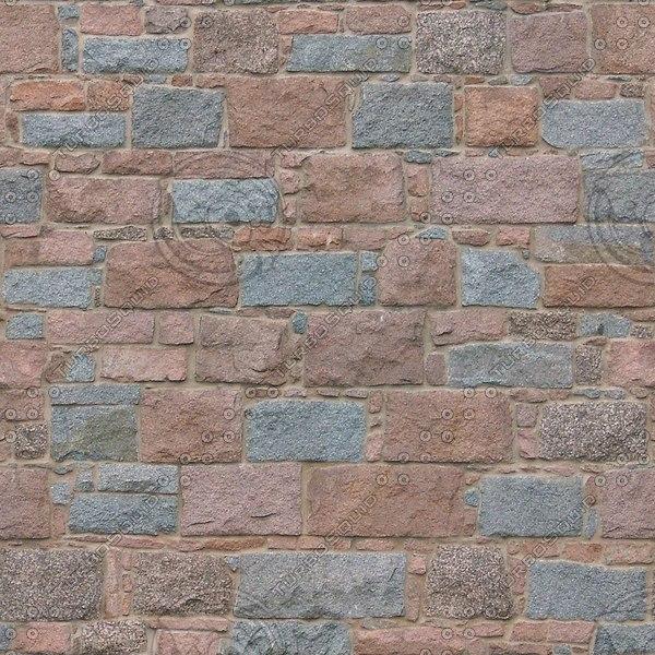 BL122 colored stone blocks