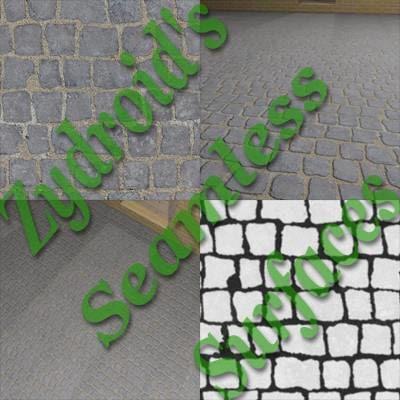 SRF concrete sidewalk paving stones