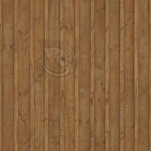 WD025 wooden wall fence