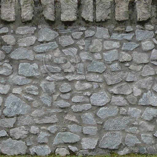 W073 garden wall texture