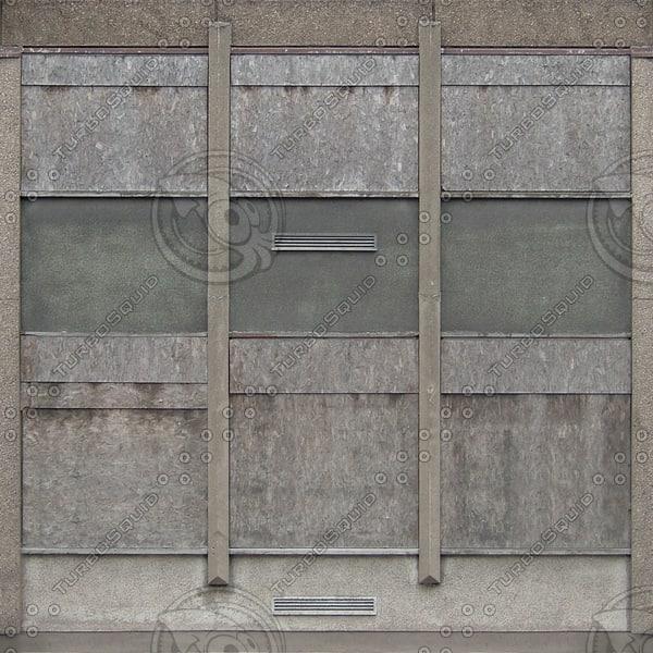 BF106 disused building facade